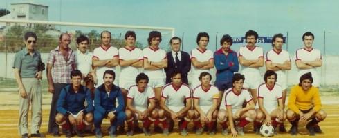 Una formazione dell'Alcamo anni '70