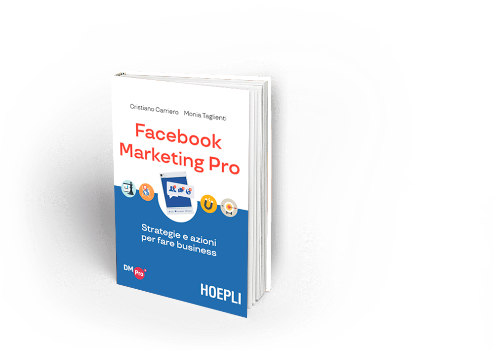 Facebook Marketing Pro carriero hoepli